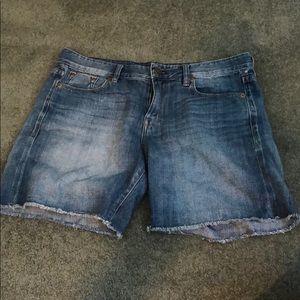 j.crew denim shorts